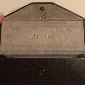 NWOT Gucci Collapsible Glasses case